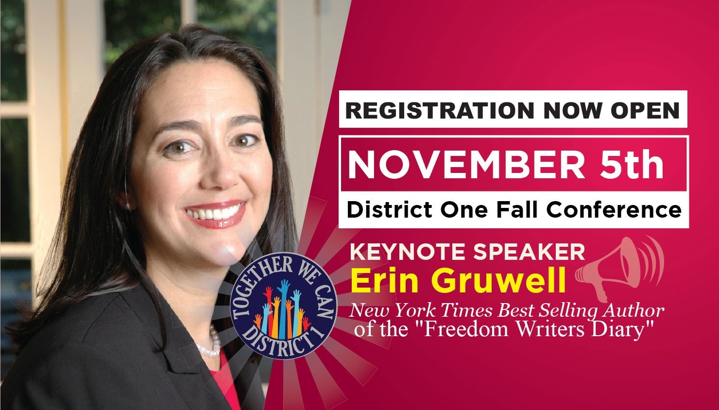 District 1 Conference Registration Now Open.